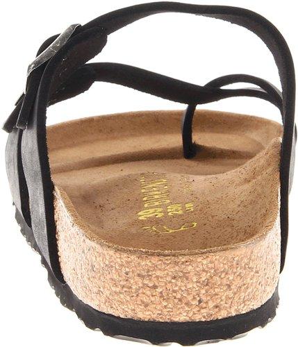 Birkenstock Women's Mayari Leather Thong Sandal,Black,EU Size 37 / Women's US Size 6-6.5 by Birkenstock (Image #2)