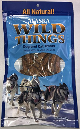 Wild Things Alaska Salmon Treat for Dogs and Cats