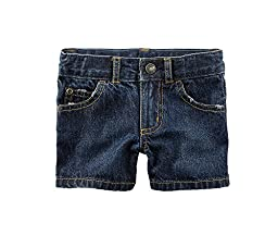 Carter\'s Baby Boys\' Denim Shorts 12 Months