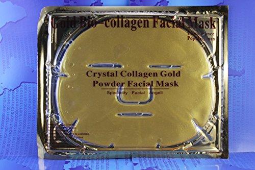 Luxurious 24K Gold Bio-collagen Facial Mask By Boolavard TM (5 pcs)