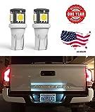 85 honda 250 sx - LED Monster 2 x 168 194 T10 5SMD LED Bulbs Car License Plate Lights Lamp White 12V (1) (5 SMD)