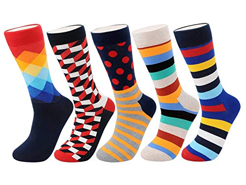 Underwear & Sleepwears Discreet Hot Sale 5 Pairs/ Lot Fashion 5 Colors Brand Quality New Mens Socks Rhombus Pattern Business Casual Sock For Men Free Shipping