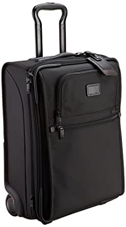 Tumi Luggage Alpha 1 Lightweight International Slim Carry-on, Black, Medium