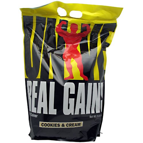 Universal Nutrition Real Gains Cookies & Cream 10.6 Lb (4.8 Kg)