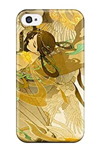 TYH - Best love couple dance yellow animal bird Anime Pop Culture Hard Plastic ipod Touch 4 cases phone case
