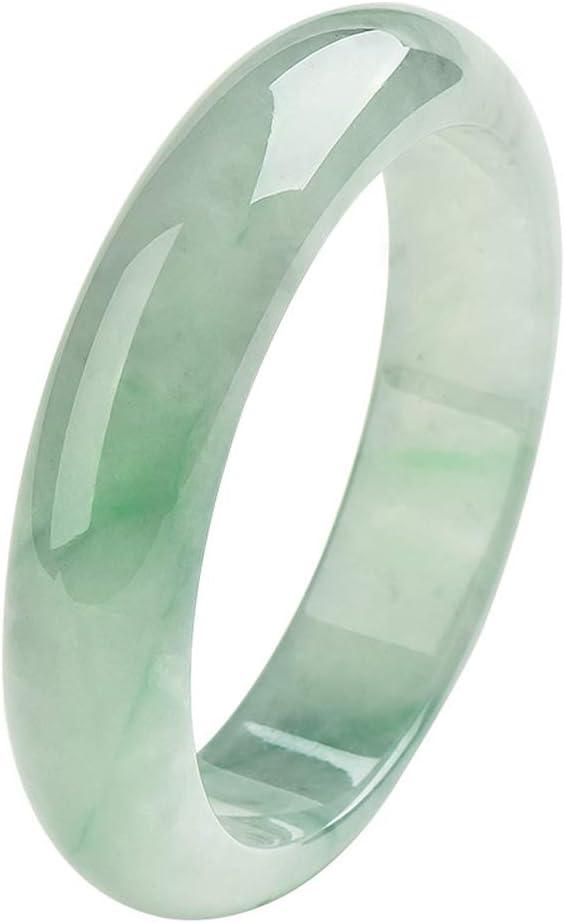 Pulsera de Jade Esmeralda Natural Piedras Preciosas Energía curativa Brazalete Genuino Atraer Buena Suerte para mamá Regalo