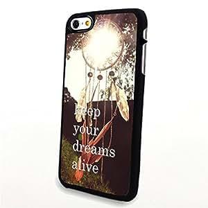 Generic Phone Accessories Matte Hard Plastic Phone Cases Beautiful Dream Catcher fit for Iphone 6 Plus
