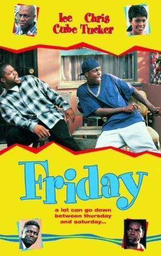 Friday 11inx17in Mini Poster Master Print #01 Ice Cube Chrs Tucker