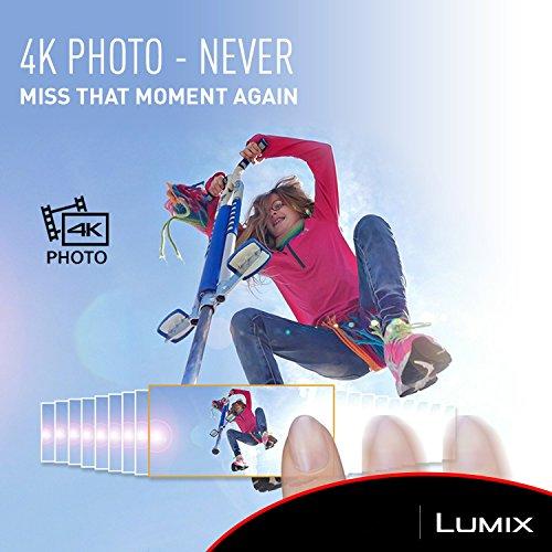 PANASONIC LUMIX 4K Point and Shoot Camera, 30X LEICA DC Vario-ELMAR Lens F3.3-6.4, 18 Megapixels, High Sensitivity Sensor, DMC-ZS60S (SILVER)