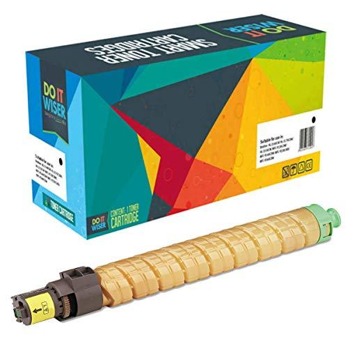 Savin Xerox Toner (Do it Wiser Compatible Toner for Ricoh Aficio SP C811DN SPC811 C811   820008 (Yellow))