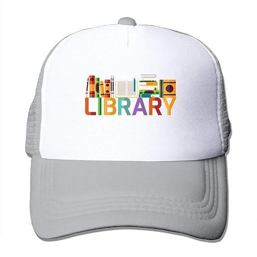 5c0d2ab35f6cf Amazon.com  NDJHEH Cap Bks in Library Mesh Hat  Clothing