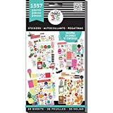Arts & Crafts : Me & My Big Ideas PPSV-04 Create 365 The Happy Planner Sticker Value Pack Planner, Brilliant Year Seasonal, 1557 Stickers