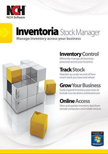 Inventoria Software for Stock Control and Inventory Management and Montoring [Download] by NCH Software