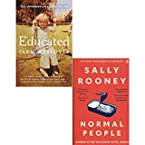 Books : Educated and Normal People 2 Books Collection Set