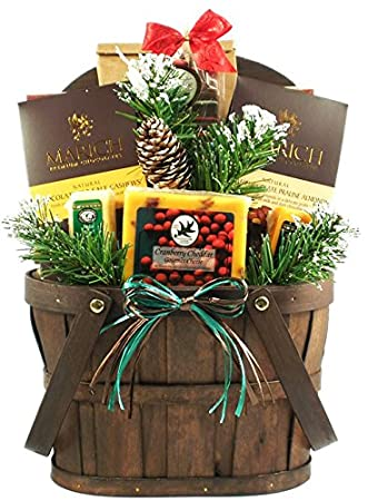 a rustic holiday gift basket size small great christmas gift for the whole family