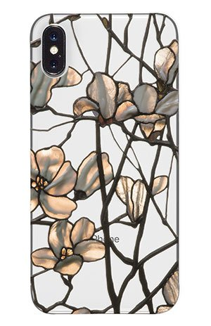 Summit iPhone X Case Tiffany Magnolia Adapted from the Three Window Panels, c. 1885 License Product Tiffany Magnolia
