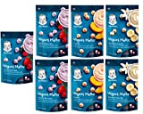 yogurt bites organic - Gerber Graduates Yogurt Melts Snack Variety Pack, 1 Ounce (Pack of 7)