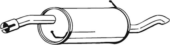 Bosal 154 427 Endschalldämpfer Auto