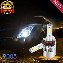 LED Headlight Bulbs Conversion Kit - H1 36W 8000 Lumen 6500K - Cool White - Super Bright - Car and Truck - High - Low - Fog Lights Beam - All-in One - Plug and Play