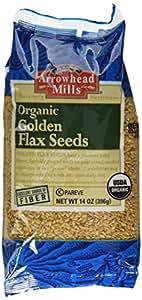 Arrowhead Mills Organic Golden Flax Seed, 14 Ounce Bag