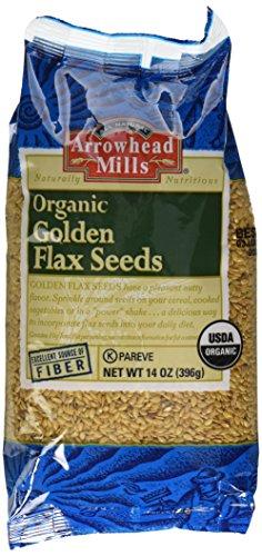 Arrowhead Mills Organic Seed lin doré, 14 once Sac