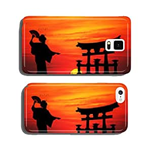 Geisha at sunset cell phone cover case iPhone6 Plus