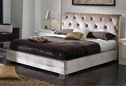 ESF Furniture Dupen Miriam Formal Sandy Queen Storage Bed Made In Spain