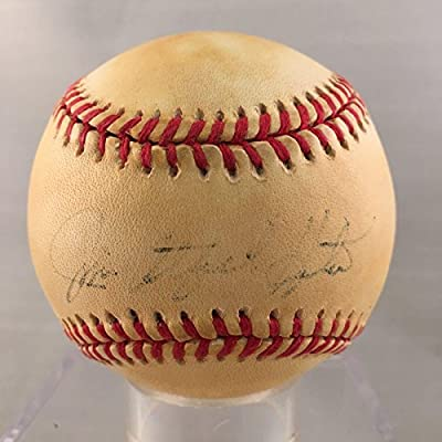 3bfd2924a12 Jim Catfish Hunter Signed Baseball - American League COA - PSA DNA Certified  - Autographed Baseballs