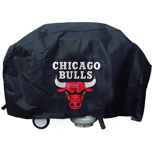 Rico NBA Chicago Bulls Deluxe Grill Cover, Black, 68 x 21 x 35