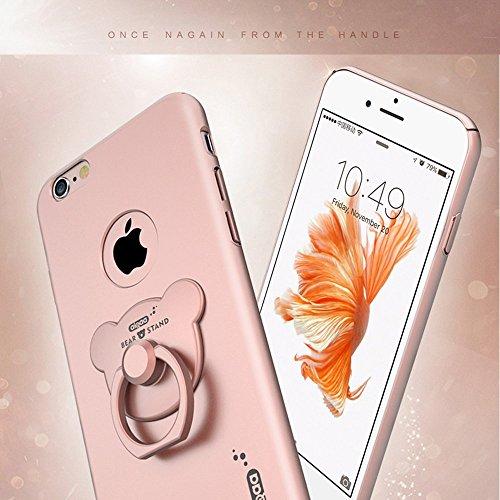 iPhone 6 plus / 6S plus Hülle - VENTER®Schutzhülle mit stylischer Aluminium Rückseite Hülle Hard Cover Back Case Tasche für Apple iPhone 6 plus / 6S plus