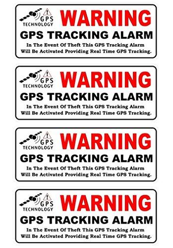 4 Pc Grand Unique Warning GPS Tracking Alarm