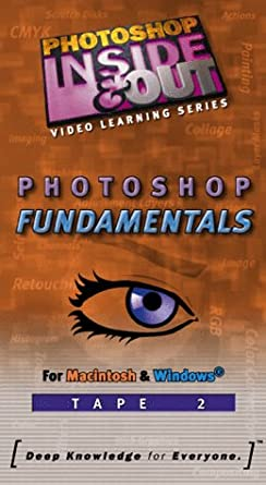 Amazon com: Photoshop Fundamentals [Tape Two] [VHS]: Movies & TV
