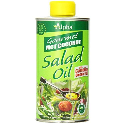 Alpha Gourmet MCT Coconut Salad Oil with Camellia Omega-3 (Camellia Salad)