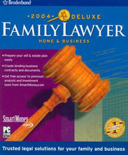 Family Lawyer 2004 Deluxe Home & Business