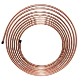 25 ft 5/16 in Copper-Nickel Fuel or Transmission Tubing Coil (.028) Wall Thickness - (7,146 PSI) BP