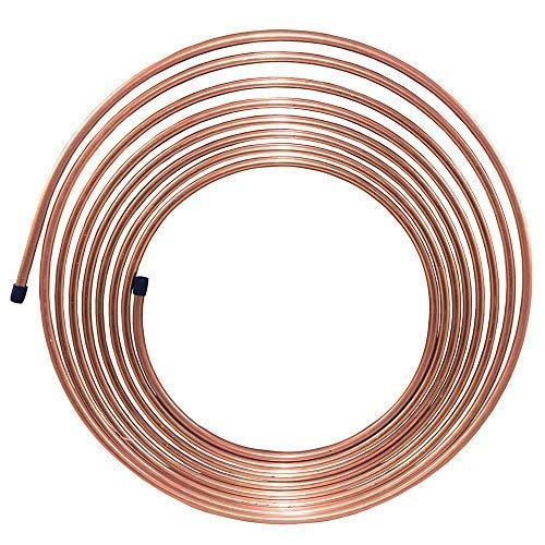 25 ft 5/16 in Copper-Nickel Fuel or Transmission Tubing Coil (.028) Wall Thickness - (7,146 PSI) BP ()