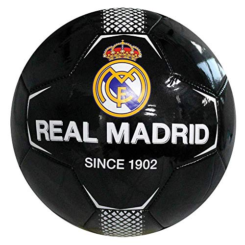 Real Madrid Since 26 Panel Ball Size 5 Black