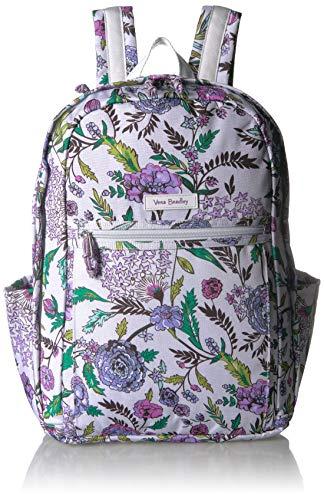 (Vera Bradley Lighten Up Grand Backpack, Lavender Botanical)