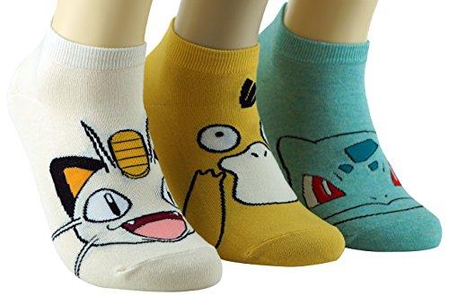 Lovely-Cute-Women-Pocket-Mon-Animal-Print-Socks