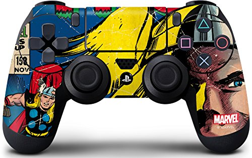 Comics PS4 Controller Skin - Marvel Comics Thor | Marvel & Skinit Skin
