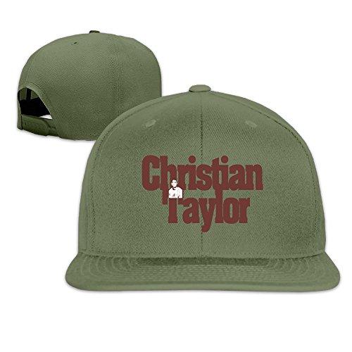 ^GinaR^ Unisex Christian Taylor2 Unisex Cotton Baseball Hats