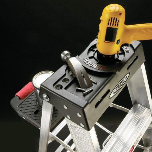 Werner 376 300-Pound Duty Rating Aluminum Stepladder, 6-Foot