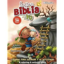 Nuevo Testamento - Cuaderno para colorear y de actividades - Bilingüe: New Testament Coloring and Activity Book - Bilingual (La gran Biblia y yo) (Spanish Edition)