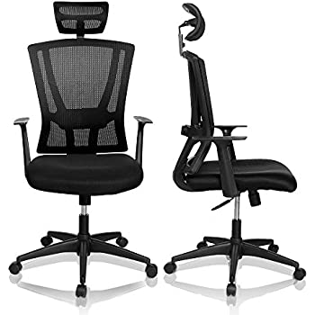 amazon com homdox high back ergonomic mesh office chair with