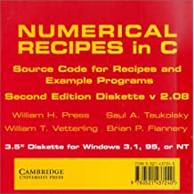 Numerical Recipes in C 3.5 Inch Diskette for Windows: The Art of Scientific Computing