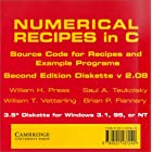 NUMERICAL RECIPES IN C The Art of Scientific Computing