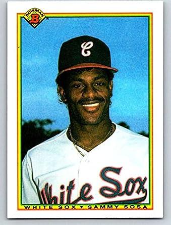 Amazon com: 1990 Bowman #312 Sammy Sosa Mint Baseball MLB RC