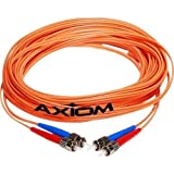 Axiom STMTMD6O-25M-AX AX - Network cable - MT-RJ multi-mode (M) to ST multi-mode (M) - 82 ft - fiber optic - 62.5/125 micron - OM1 - riser - orange