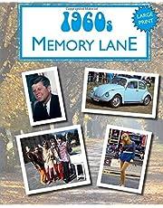 1960s Memory Lane: large print book for dementia patients