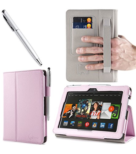 i-BLASON Kindle Fire HDX 7 inch Tablet Leather Case Cover...